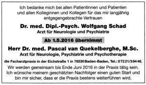 Anzeige_Badisches_Tagblatt_Praxisübergabe_30.04.2016